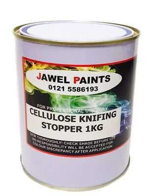 Cellulose Knifing Stopper Jawel Grey smooth finish Fast Cure 1kg