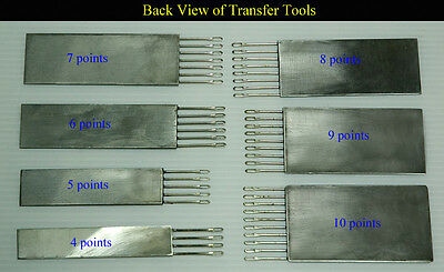 Transfer Tools 4.5mm Brother singer Silver Reed Toyota knitting machines.