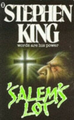 'Salem's Lot, King, Stephen Paperback Book The Cheap Fast Free Post