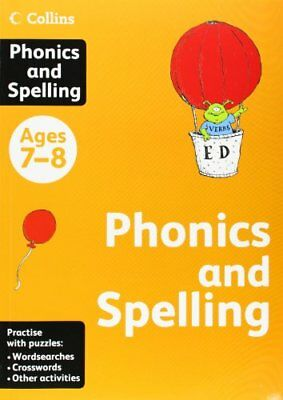 Collins Phonics and Spelling: Ages 7-8 (Collins Practice) Book The Cheap Fast