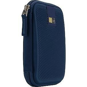 Case Logic EHDC101 Portable Hard Drive Case Blue NEW Storage Protection Wallet