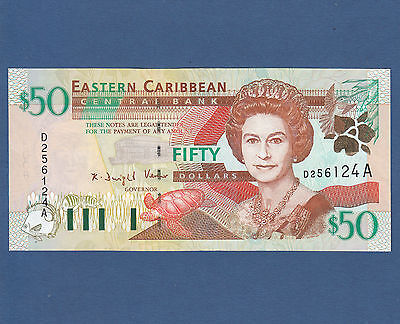 EAST CARIBBEAN STATES 50 Dollars (2000) UNC P. 40 a