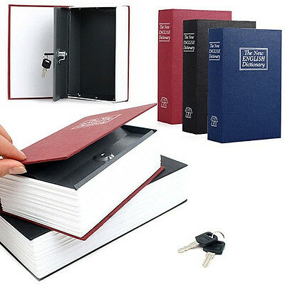 Typical Book Hidden Security Lock Key Safe Box Diversion Secret Stash Boxs Home