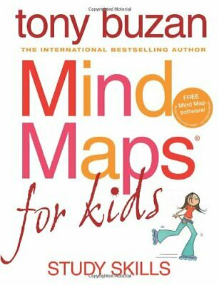 Mind Maps for Kids: Study Skills by Buzan, Tony Paperback Book The Cheap Fast
