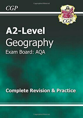 A2 Level Geography AQA Complete Revision & Practice by CGP Books Book The Cheap