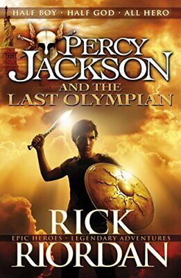 Percy Jackson and the Last Olympian (Book 5) by Riordan, Rick Book The Cheap