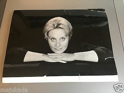 MICHÈLE MORGAN  - PHOTO DE PRESSE ORIGINALE 24x18cm