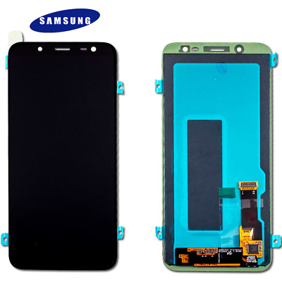 Original Samsung Galaxy J6 2018 J600F LCD Display Touch Screen Bildschirm Black