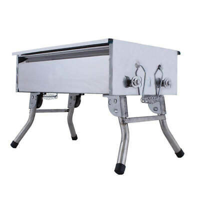 Mini Mangal Shashlik and BBQ grill from stainless steel