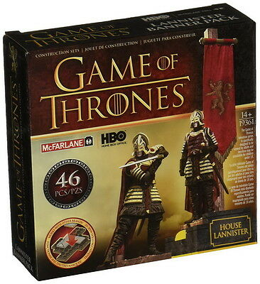 GAME OF THRONES Building Set BANNER PACK HOUSE LANNISTER 46 Teile NEU+OVP