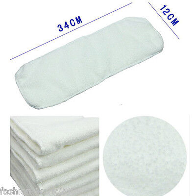 Infant Liner Inserts Baby Reusable Washable For Cloth Diapers 2/3 Layers Nappy