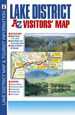Lake District Visitors' Map by Geographers A-Z Map Company Sheet map, folded The