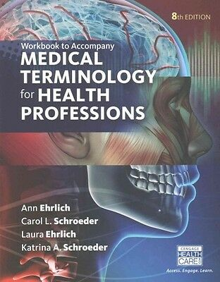 Medical Terminology For Health Professions - New Paperback Book