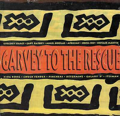 Various – Garvey To The Rescue Super Power LP MINT SEALED DANCEHALL £2.99