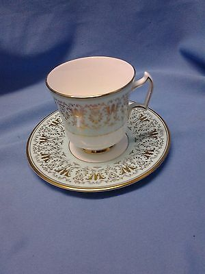 Royal Chelsea, Cumberland Pattern, Cup & Saucer