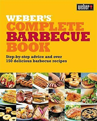 Weber's Complete Barbeque Book: Step-by-step ad... by Purviance, Jamie Paperback