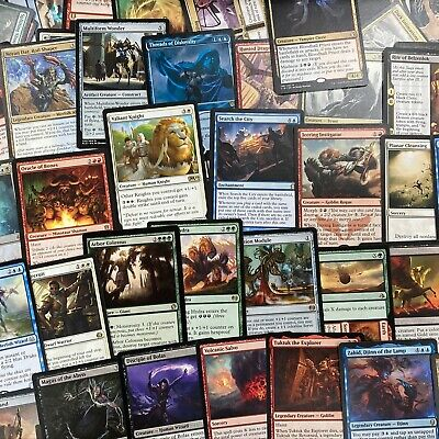 100 Card Magic the Gathering MTG English Rare Lot NM/SP *ONLY RARES & NO DUPES*