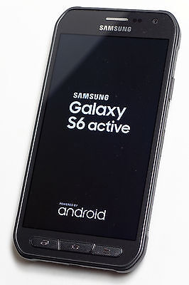 New in Box Samsung Galaxy S6 Active G890A 32GB AT&T Locked Gray Smartphone
