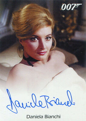 James Bond 007 Classics Autograph Card Daniela Bianchi as Tatiana Romanova