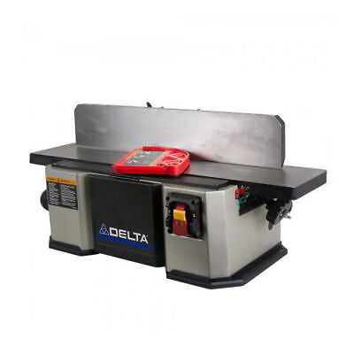 Delta Woodworking 37 071 120v 6 In Heavy Duty Cast Iron Midi Bench Jointer New