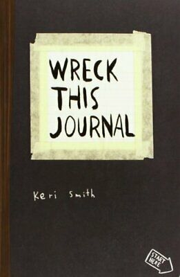 Wreck This Journal: To Create is to Destroy by Smith, Keri Paperback Book The