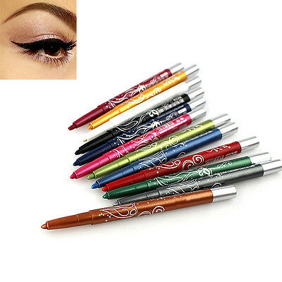 Fashion Sexy Professional Eye Shadow Lip Liner Eyeliner Pen Pencil Makeup Hot F