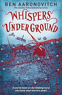 Whispers Under Ground (A Rivers of London novel) by Aaronovitch, Ben Book The