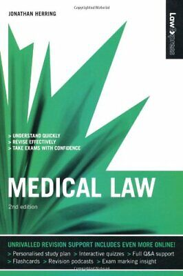 Law Express: Medical Law (Revision Guide) by Herring, Jonathan Paperback Book