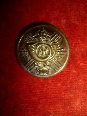 "The Highland Light Infantry (Glasgow Regiment) Victorian Button, 25 mm / 1"" dia."