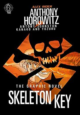 Skeleton Key Graphic Novel (Alex Rider) by Johnston, Antony Book The Cheap Fast