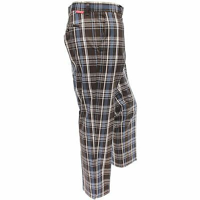 Dwyers & Co. Funky Checked Designer Flat Front Golf Trousers Dublin