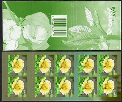 SINGAPORE MNH 2012 Pond Life Booklet complete.