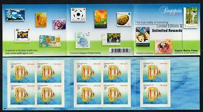 SINGAPORE MNH Unlimited Rewards Booklet complete.