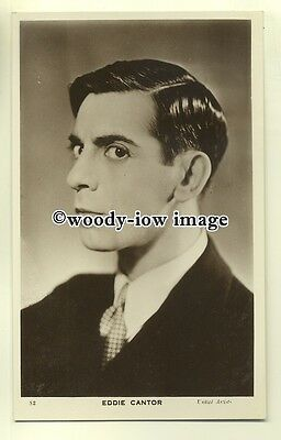 b2624 - Film Actor - Eddie Cantor - postcard
