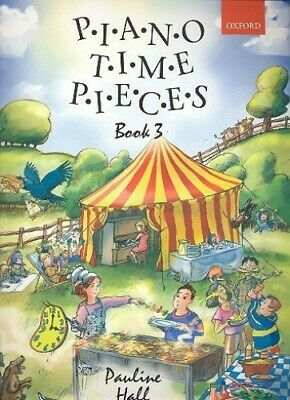 Piano Time Pieces, Book 3 by Pauline Hall Paperback Book The Cheap Fast Free