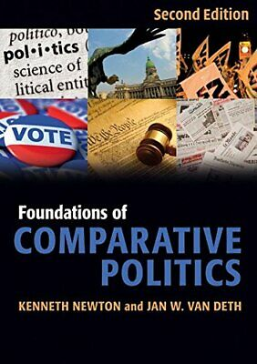 Foundations of Comparative Politics (Cambridge T... by Newton, Kenneth Paperback