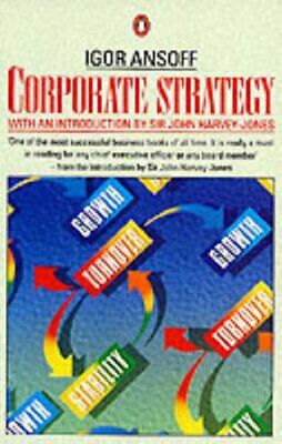 Corporate Strategy (Business Library) by Ansoff, H.Igor Paperback Book The Cheap