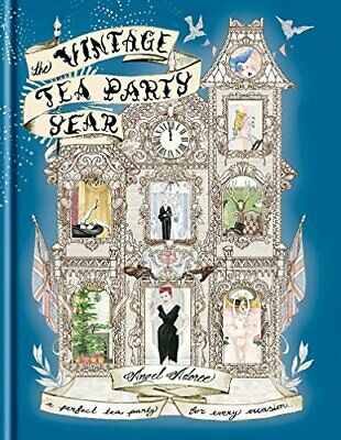 The Vintage Tea Party Year by Adoree, Angel Book The Cheap Fast Free Post