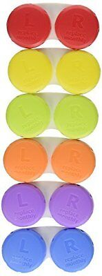Damaged Packaging Equate Contact Lens Cases 6 Pack