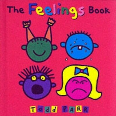 The Feelings Book, Parr, Todd Hardback Book The Cheap Fast Free Post