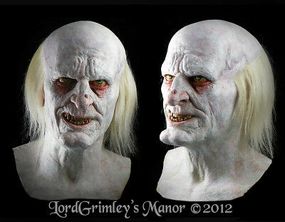 Deluxe Crypt Keeper Halloween Mask Horror Monster Thick Latex Undertaker