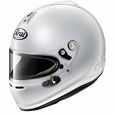Arai Official AUTO RACING Helmet GP-6S 8859 White made in Japan New