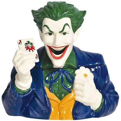 DC Comics Batman The Joker Westland Collectible Cookie Jar #25533