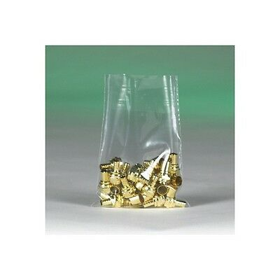 """""""Flat 2 Mil Poly Bags, 4""""""""x20"""""""", Clear, 1000/Case"""""""