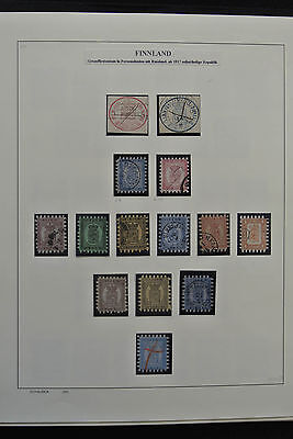 Lot 25864 Collection stamps of Finland 1856-1988.