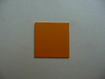ORANGE Vinyl Dolls House Kitchen Floor Tiles