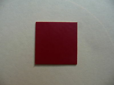 DARK RED Vinyl Dolls House Bathroom & Kitchen Floor Tiles