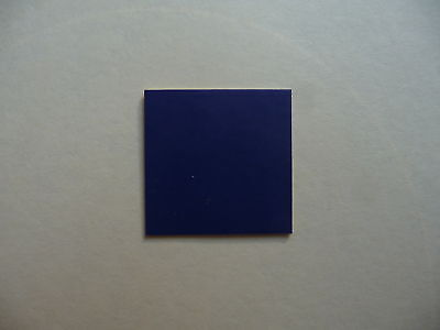 DARK BLUE Vinyl Dolls House Bathroom & Kitchen Floor Tiles