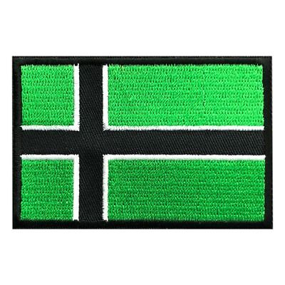 Vinland Flag Viking Type O Negative Iron On 3 Inch Flag Patch