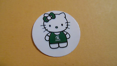 Pre Cut One Inch Bottle Cap Images Michigan State  Free Ship